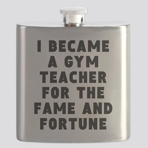 Gym Teacher Fame And Fortune Flask