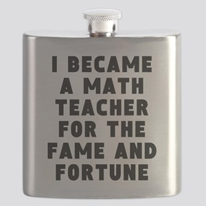 Math Teacher Fame And Fortune Flask