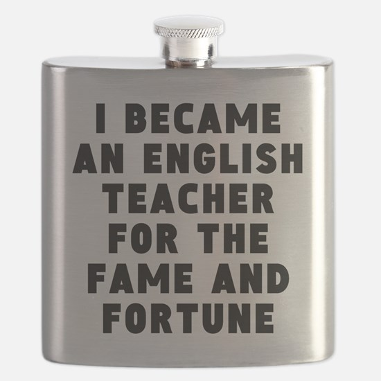 English Teacher Fame And Fortune Flask