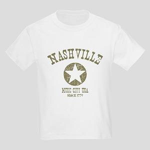 Nashville Since 1779 D4 Kids Light T-Shirt