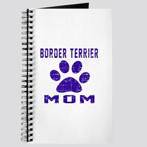 Border Terrier mom designs Journal