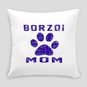Borzoi mom designs Everyday Pillow