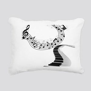 Music Rectangular Canvas Pillow