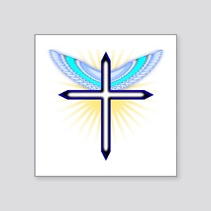 Angel Cross Sticker