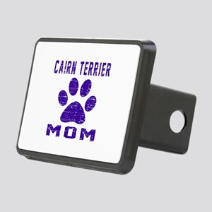 Cairn Terrier mom designs Rectangular Hitch Cover