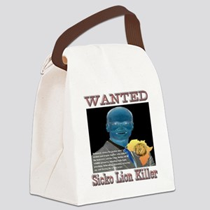 WANTED SICKO LION KILLER Canvas Lunch Bag