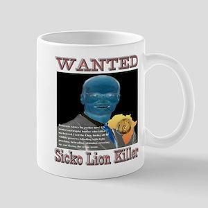 WANTED SICKO LION KILLER Mug