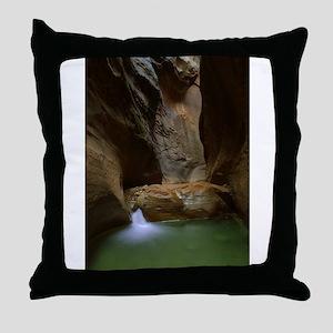 Zion Ntional Park Throw Pillow