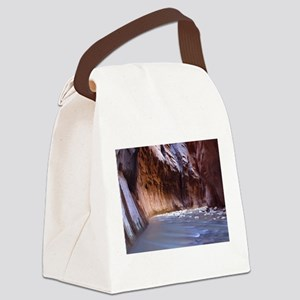 Zion Ntional Park Canvas Lunch Bag