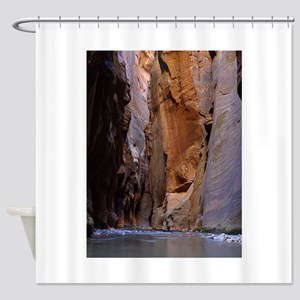 Zion Ntional Park Shower Curtain