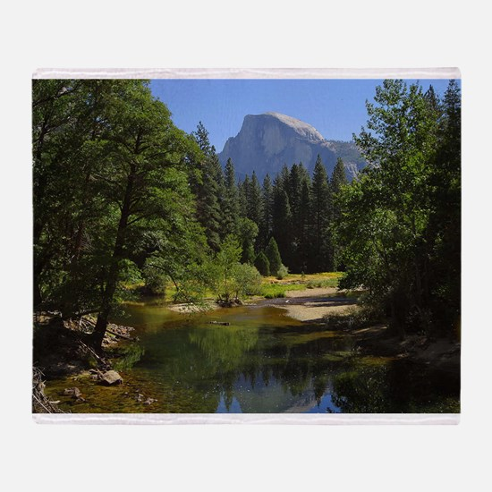 yosemite national park/ Throw Blanket