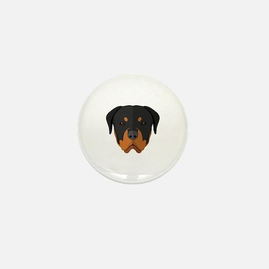 Cute Breed rescue Mini Button