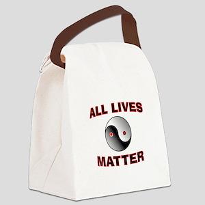 ALL LIVES MATTER Canvas Lunch Bag