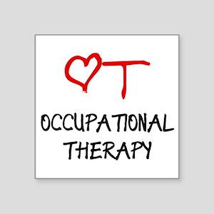 OT-HEART-onblack2 Sticker