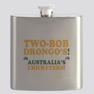 TWO-BOB DRONGOS - AUSTRALIAS CRICKETERS! - Flask