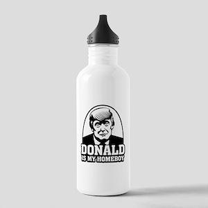 Trump Is My Homeboy Water Bottle