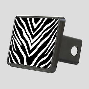 Zebra Striped Pattern Hitch Cover