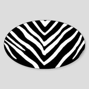 Zebra Striped Pattern Sticker