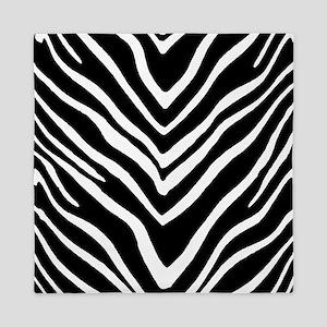 Zebra Striped Pattern Queen Duvet