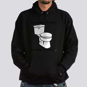PERSONALIZED Toilet Graphic Hoodie