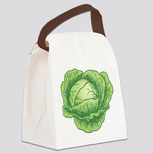 Cabbage Canvas Lunch Bag