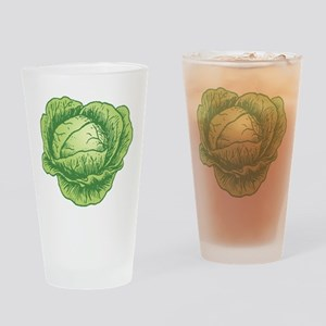 Cabbage Drinking Glass