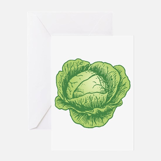 Cabbage Greeting Cards