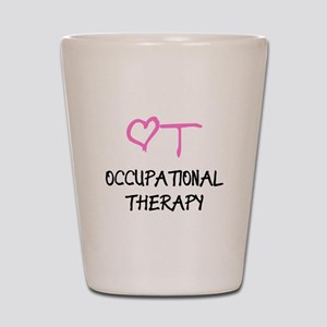 OT Heart Occupational Therapy Shot Glass