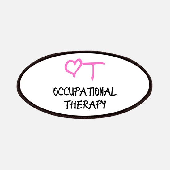 OT Heart Occupational Therapy Patch