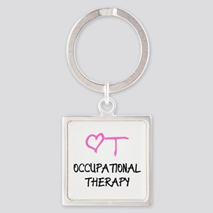 OT Heart Occupational Therapy Keychains