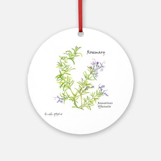 Rosemary Round Ornament