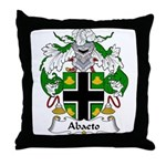 Abaeto Family Crest Throw Pillow