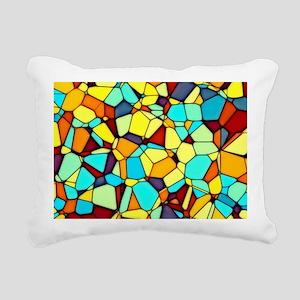 Mosaic Rectangular Canvas Pillow