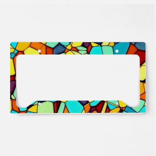 Mosaic License Plate Holder