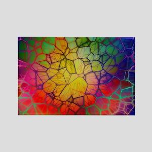 Mosaic Rectangle Magnet