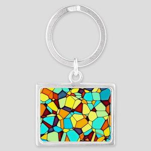 Mosaic Landscape Keychain