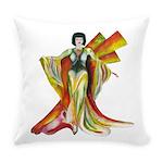 Fashion illustration Vintage style Everyday Pillow