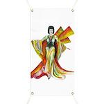 Fashion Illustration Vintage Style Banner