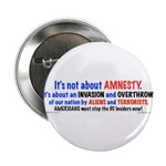 """Stop Invasion Pk) 2.25"""" Button (10 Pack)"""