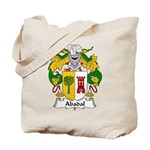 Abadal Family Crest Tote Bag
