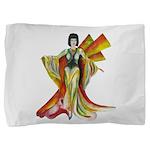 Fashion illustration Vintage style Pillow Sham