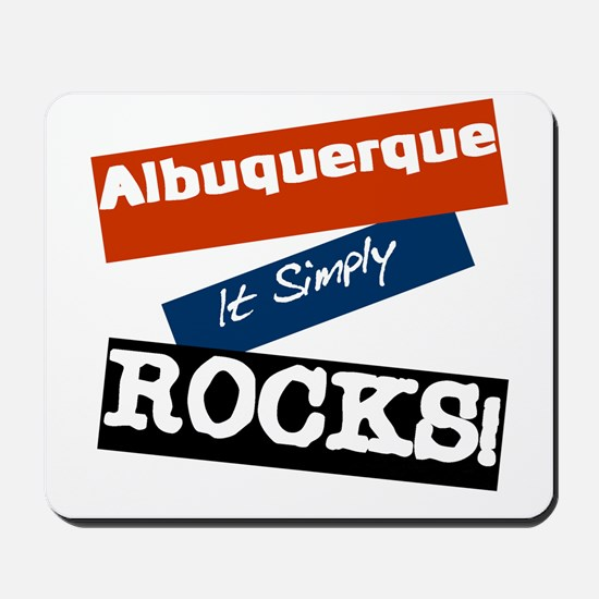 Albuquerque Rocks Mousepad