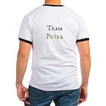 """""""Team Peter"""" Ringer T T-Shirt"""
