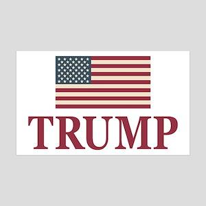 Trump 2016 Flag Wall Decal