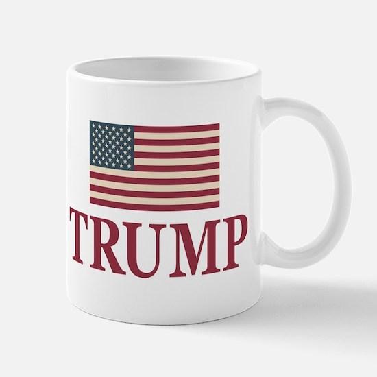 Trump 2016 Flag Mugs