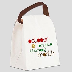 PT-OctFallColors2b Canvas Lunch Bag