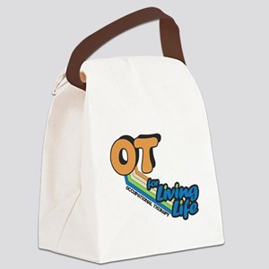 OT Occupational Therapy for Livin Canvas Lunch Bag