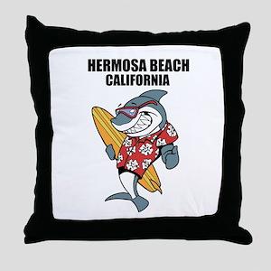 Hermosa Beach, California Throw Pillow