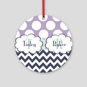 Tinley & Ryker Round Ornament