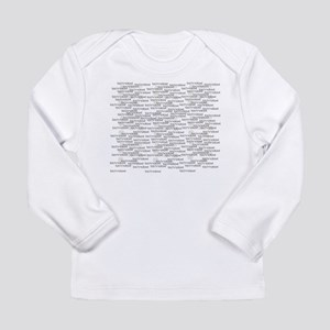 Technotext Techno Cool Black T Long Sleeve T-Shirt